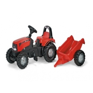 Case pedal tractor and trailer