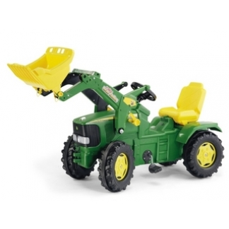 John Deere pedal tractor with loader