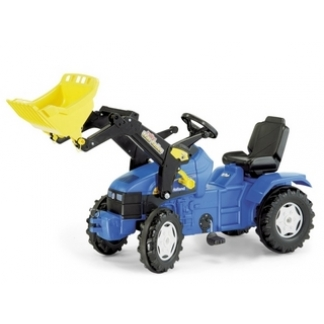 New Holland TM 175 pedal tractor with loader
