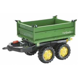 Large green trailer John Deere