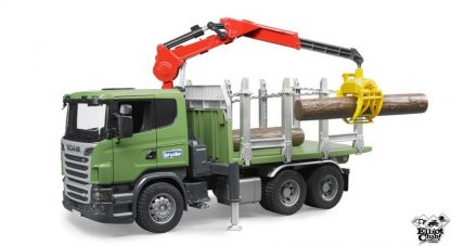 Toy Scania timber trucks