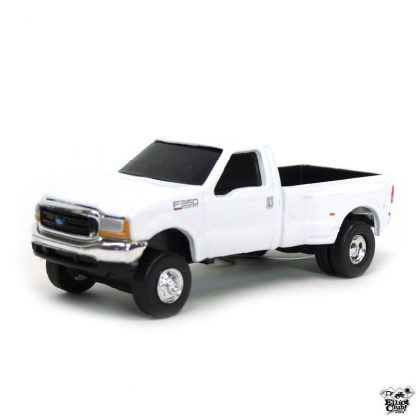 Toys Ford F350 Pickup Truck in White