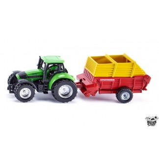 Mini Deutz avec autochargeuse Pottinger